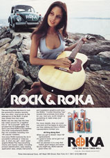 Ellen Michaels in ad for Volkswagon Roka